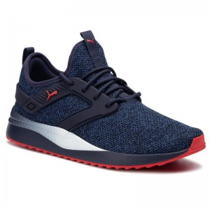 Puma Sneakers Pacer Next Excel VarKnit 369121 07 Peacoat/Galaxy Blue