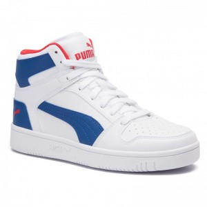 Puma Sneakers Rebound Layup Sl Jr 370486 05 White/Galaxy/Blue/Red
