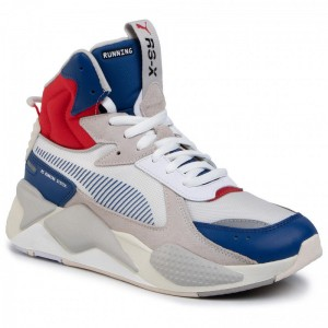 Puma Sneakers RS-X Midtop Utility 369821 02 Galaxy Blue/Puma White