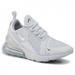 Nike Schuhe Air Max 270 CI2671 002 Pure Platinum/Chrome Black