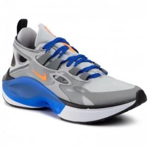 Nike Schuhe Signal D/MS/X AT5303 004 Pure Platinum/Total Orange