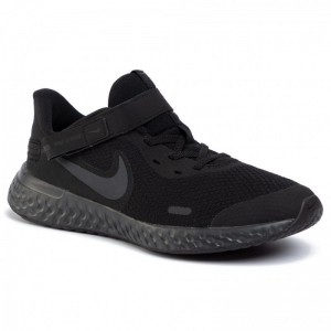Nike Schuhe Revolution 5 Flyese (Gs) CQ4649 001 Black/Black/Anthracite